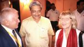 Interaction between Minister of Defence, GoI, Manohar Parrikar and ITS directors