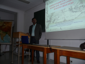 Dr. P. K. Ghosh at Munich University, Germany