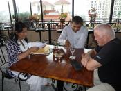 Interaction between ITS directors, Dr. Indra Adhikari and Dr. Uddhab Pyakurel, Kathmandu, Nepal