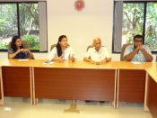 Interaction between ITS directors and Professors and Scholars at NIAS, Bangalore