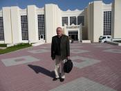 Prof. Dr. Klaus Lange at Qatar University, Doha