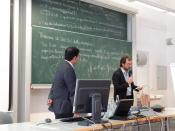 Lecture at University of Bozen/Bolzano by Dr. Jagannath Panda, Prof. Dr. Roberto Farneti