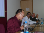 Prof. Dr. Amarjeet Singh, Jamia Millia Islamia, Delhi, at ITS-workshop in Gurgaon, India