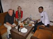 Interaction between ITS directors and Mr. Chiran Thapa, journalist and leader of Asia Foundation, Kathmandu, Nepal