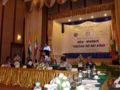 "India - Myanmar ""Together The Way Ahead"", conference in Yangon, Myanmar"